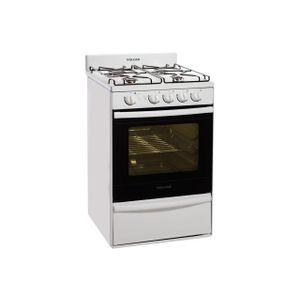 Cocina VOLCAN 89643V GAS NATURAL Blanca