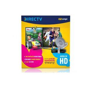 Kit Directv Prepago Antena 46cm Apto Pack Futbol