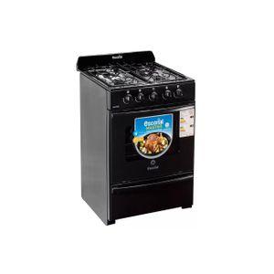 Cocina Escorial Master Black Multigas 56 Cm