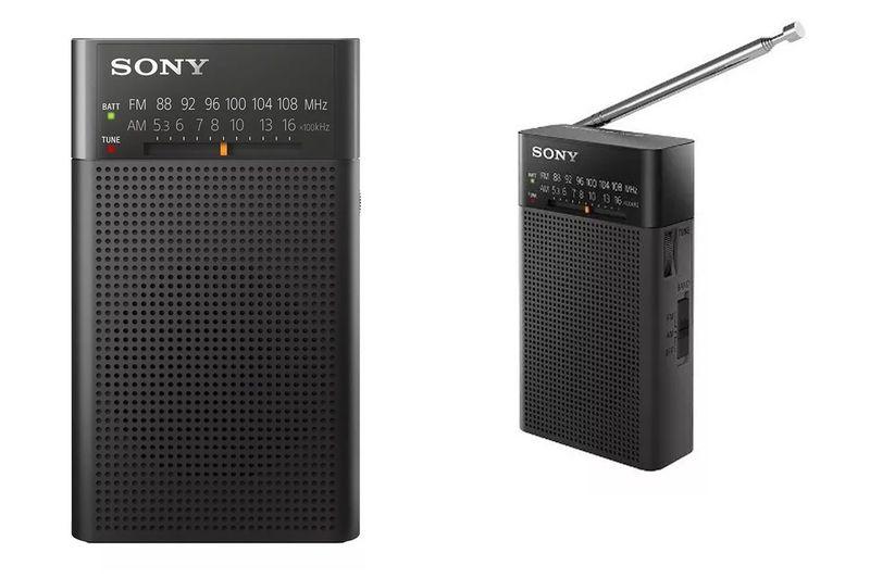 Radio-Portatil-Am-Fm-Sony-Icf-p26-Con-Parlante