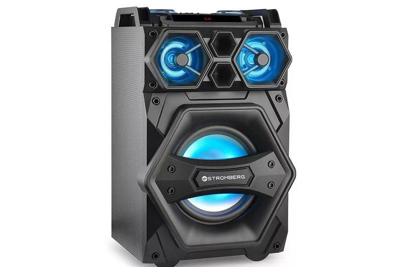 Torre-Audio-Stromberg-Dj-4002-Bluetooh-140w-Rms-Con-Mezclad