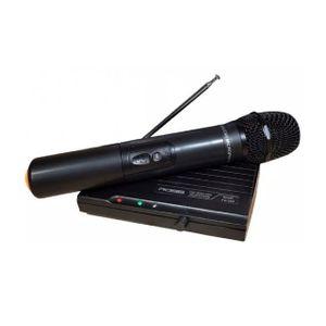 Micrófono Inalámbrico De Mano Canto Voces Ross Fv 302 Vhf