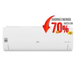 Aire acondicionado LG Dual Cool split inverter frío/calor 3517W blanco 220V S4-W12JA3AA