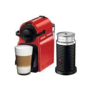 Cafetera Nespresso Inissia C40 Ruby 220V ROJA + AEROCCINO