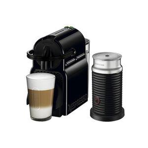 Cafetera Nespresso  Inissia D40 Black 220V NEGRO + AEROCCINO
